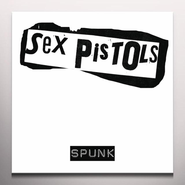 Sex Pistols SPUNK Vinyl Record - Colored Vinyl, Yellow Vinyl