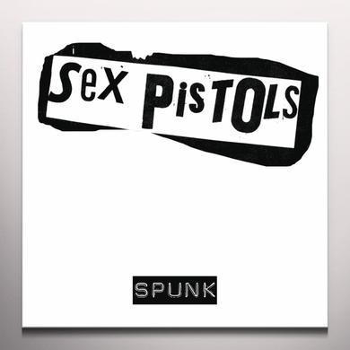 Sex Pistols SPUNK Vinyl Record - Colored Vinyl, Yellow Vinyl