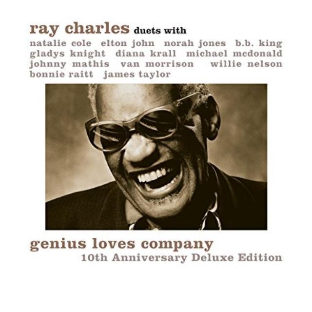 Ray Charles GENIUS LOVES COMPANY 10TH ANNIVERSARY Vinyl Record