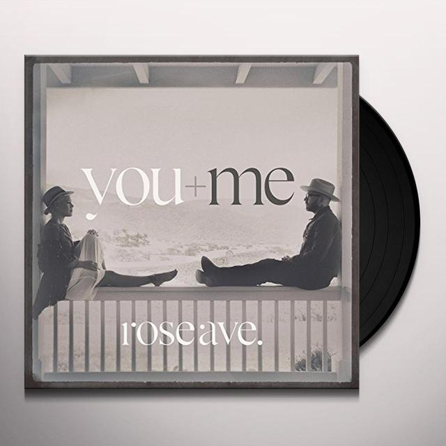 You+Me ROSE AVE Vinyl Record - MP3 Download Included