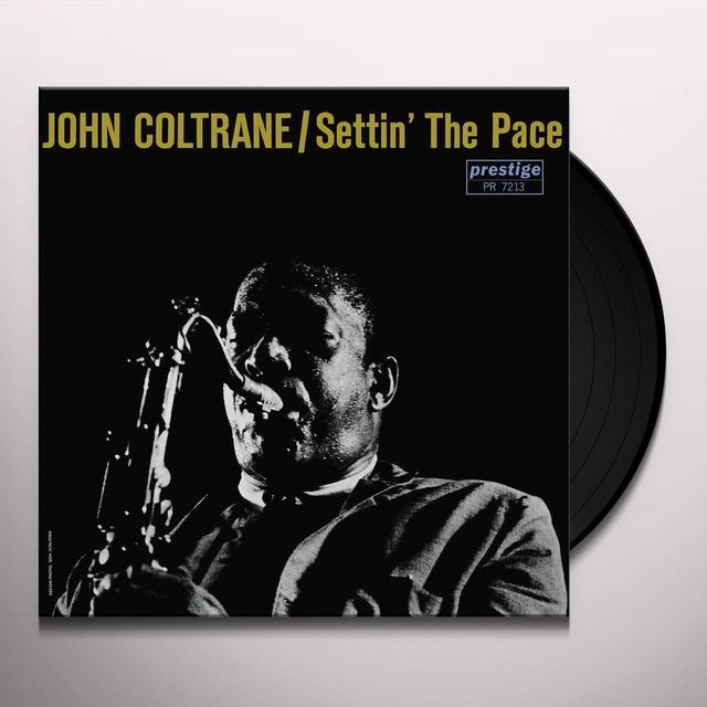 John Coltrane SETTIN THE PACE Vinyl Record