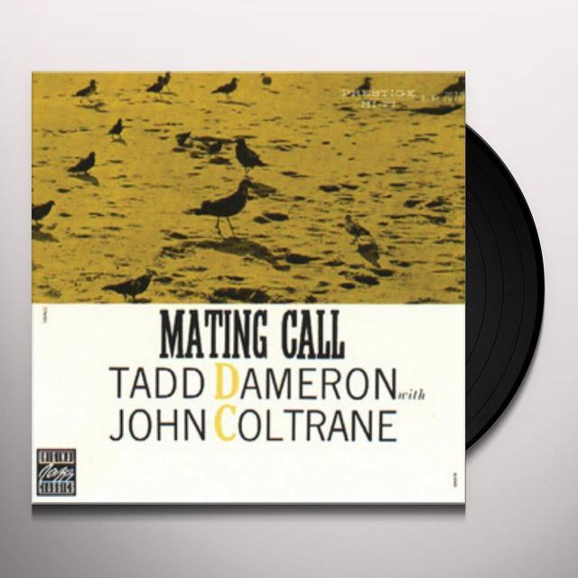 Tadd Dameron MATING CALL Vinyl Record