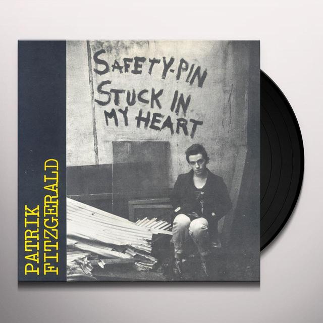 Patrik Fitzgerald SAFETY PIN STUCK IN MY HEART Vinyl Record