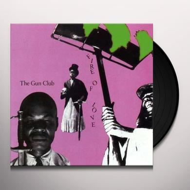 The Gun Club FIRE OF LOVE Vinyl Record - 180 Gram Pressing