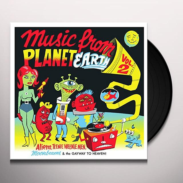 MUSIC FROM PLANET EARTH 2: ALIENS TEENIE / VARIOUS Vinyl Record