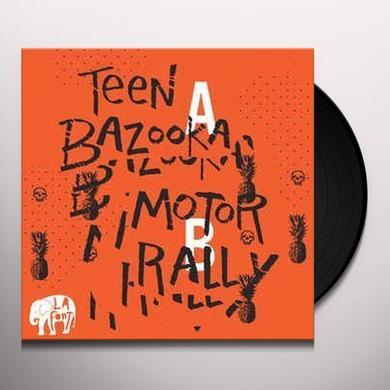 LA Font TEEN BAZOOKA / MOTOR RALLY Vinyl Record