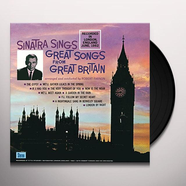 Frank Sinatra SINATRA SINGS GREAT SONGS FROM GREAT BRITIAN Vinyl Record
