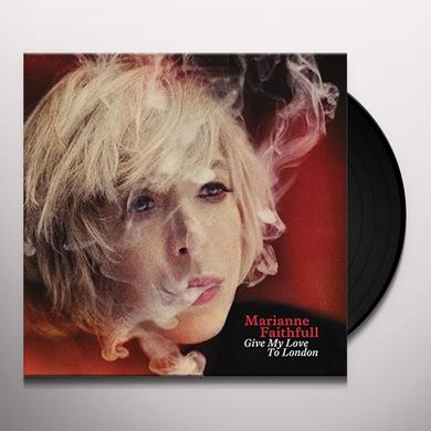 Marianne Faithfull GIVE MY LOVE TO LONDON Vinyl Record