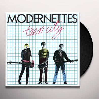 MODERNETTES TEEN CITY-35TH ANNIVERSARY Vinyl Record
