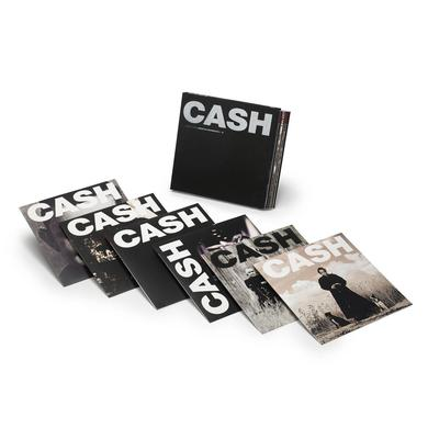Johnny Cash AMERICAN RECORDINGS VINYL BOX SET Vinyl Record