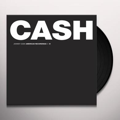 Johnny Cash AMERICAN RECORDINGS VINYL BOX SET (BOX) Vinyl Record