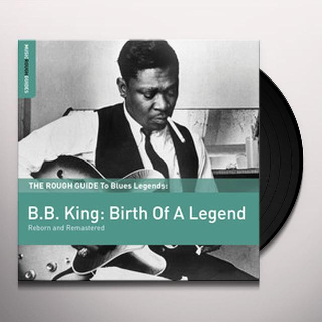 ROUGH GUIDE TO BLUES LEGENDS: B.B. KING Vinyl Record - UK Release