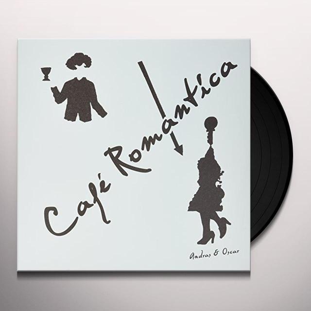 ANDRAS & OSCAR CAFE ROMANTICA Vinyl Record - Australia Import