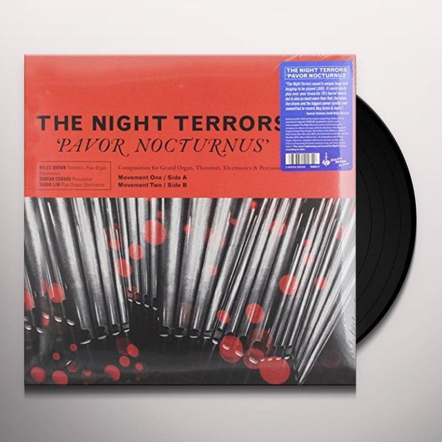 Night Terrors PAVOR NOCTURNUS Vinyl Record - Australia Import