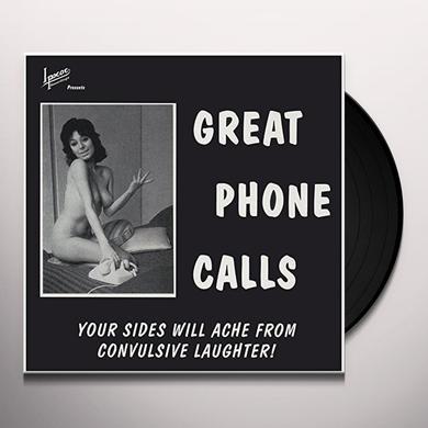 Neil Hamburger GREAT PHONE CALLS Vinyl Record