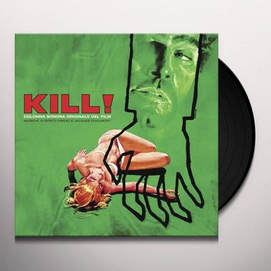 Berto Pisano / Jacques Chaumont KILL / O.S.T. Vinyl Record - Limited Edition, 180 Gram Pressing, Deluxe Edition