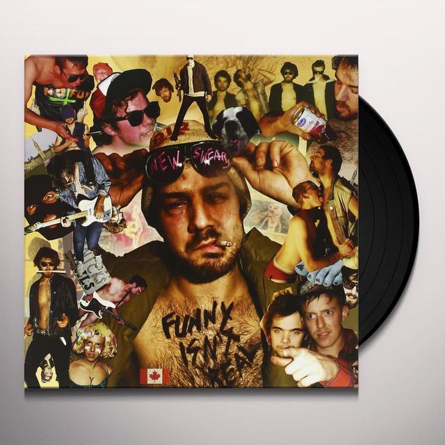 NEW SWEARS FUNNY ISN'T REAL Vinyl Record