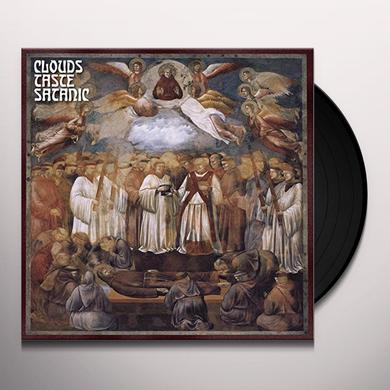 CLOUDS TASTE SATANIC TO SLEEP BEYOND THE EARTH Vinyl Record