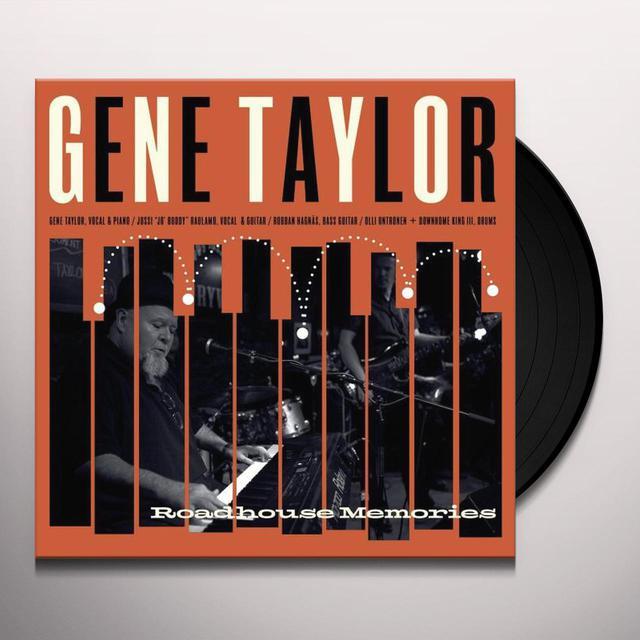 Gene Taylor ROADHOUSE MEMORIES Vinyl Record