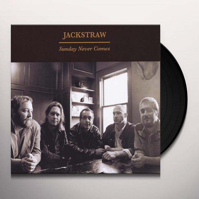 JACKSTRAW SUNDAY NEVER COMES Vinyl Record