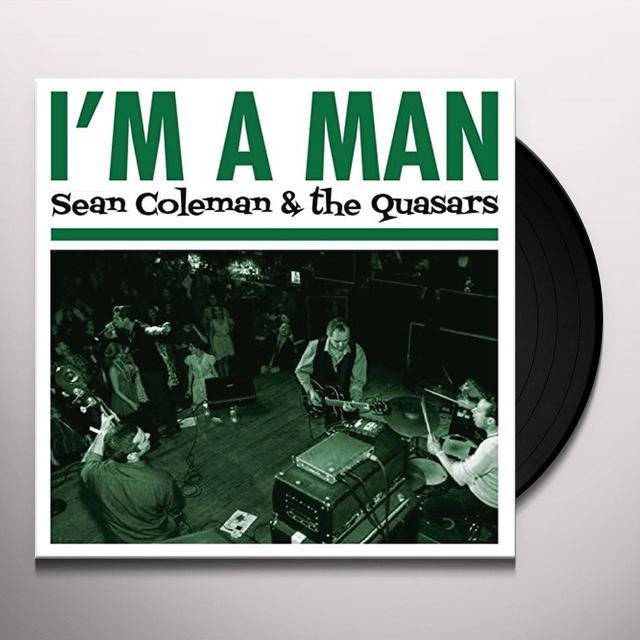 Sean Coleman I'M A MAN Vinyl Record