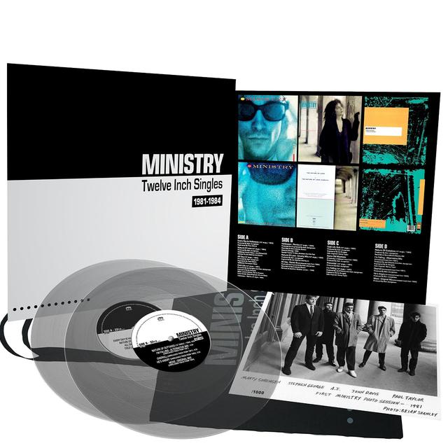 Ministry TWELVE INCH SINGLES (EXP) Vinyl Record