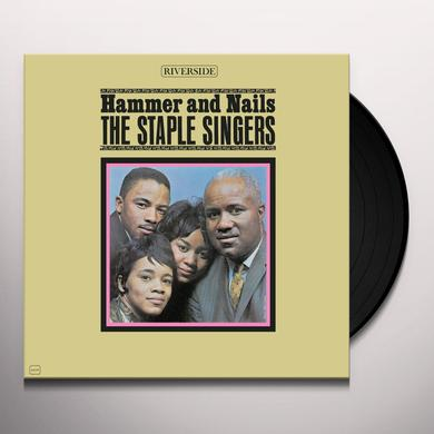 The Staple Singers HAMMER & NAILS Vinyl Record
