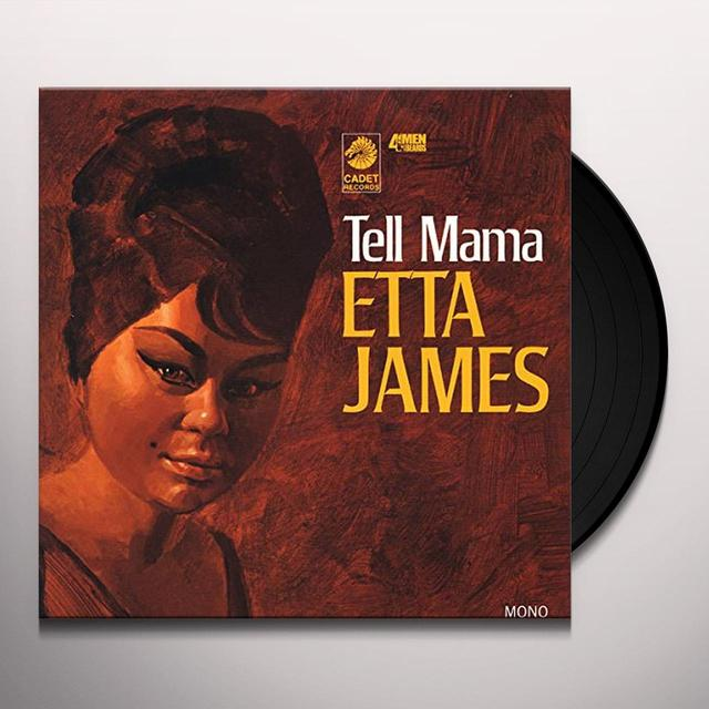 Etta James TELL MAMA Vinyl Record - 180 Gram Pressing