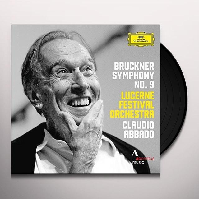 BRUCKNER / ABBADO / LUCERNE FESTIVAL ORCHESTRA SYMPHONY NO 9 Vinyl Record