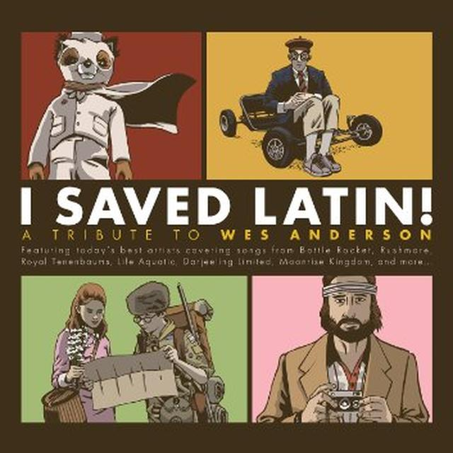 I SAVED LATIN: TRIBUTE TO WES ANDERSON / VARIOUS Vinyl Record