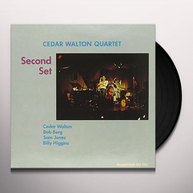 Cedar Walton SECOND SET-180 GRAM Vinyl Record - 180 Gram Pressing, Spain Import