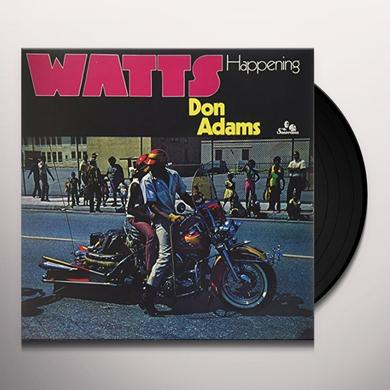 Don Adams WATTS HAPPENING Vinyl Record