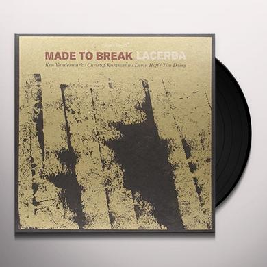 Made To Break LACERBA Vinyl Record - Spain Import