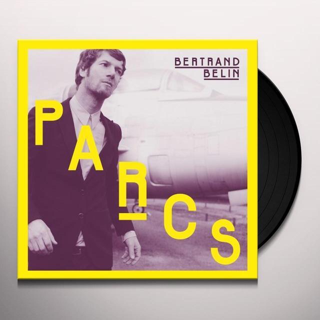 Bertrand Belin PARCS (FRA) Vinyl Record