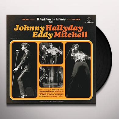 Johnny Hallyday RYTHM & BLUES PART Vinyl Record