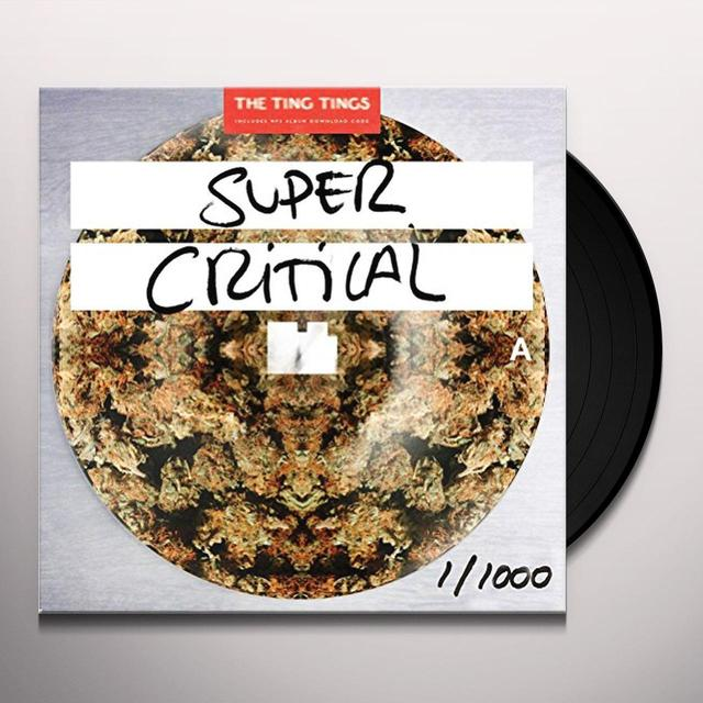 The Ting Tings SUPER CRITICAL Vinyl Record - UK Import