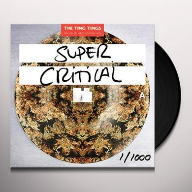 The Ting Tings SUPER CRITICAL Vinyl Record