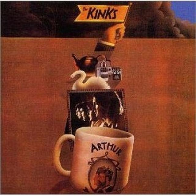 The Kinks ARTHUR OR THE DECLINE & FALL OF THE BRITISH EMPIRE Vinyl Record
