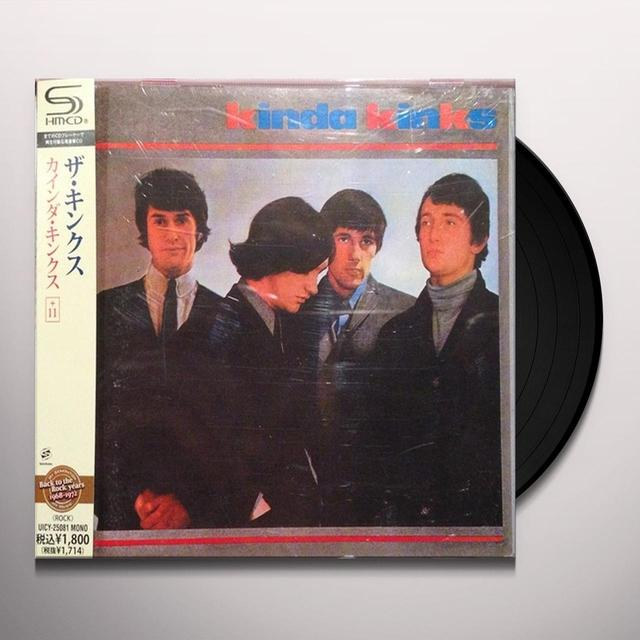 KINDA KINKS Vinyl Record - UK Import