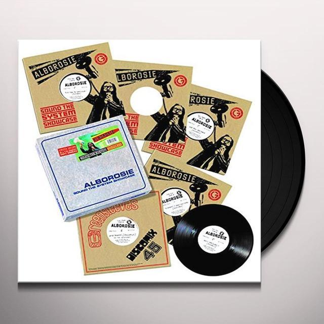 Alborosie SOUND THE SYSTEM SHOWCASE (UK) (Vinyl)