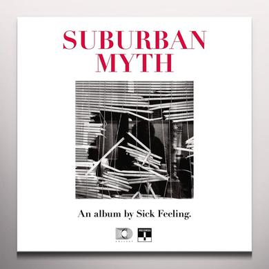 SICK FEELING SUBURBAN MYTH (WHITE VINYL) Vinyl Record - Colored Vinyl, UK Import