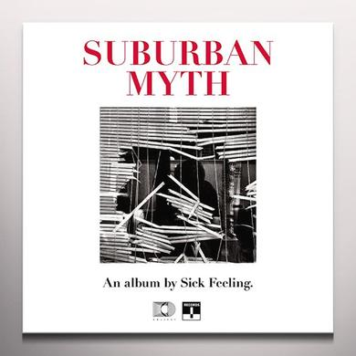 SICK FEELING SUBURBAN MYTH (PINK / RED VINYL) (UK) (COLV)