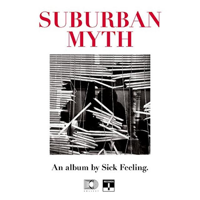 SICK FEELING SUBURBAN MYTH (PINK / RED VINYL) (UK) (COLV)