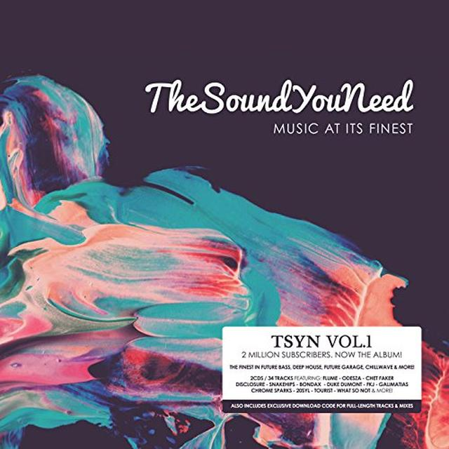 SOUND YOU NEED / VARIOUS (UK) SOUND YOU NEED / VARIOUS Vinyl Record - UK Import