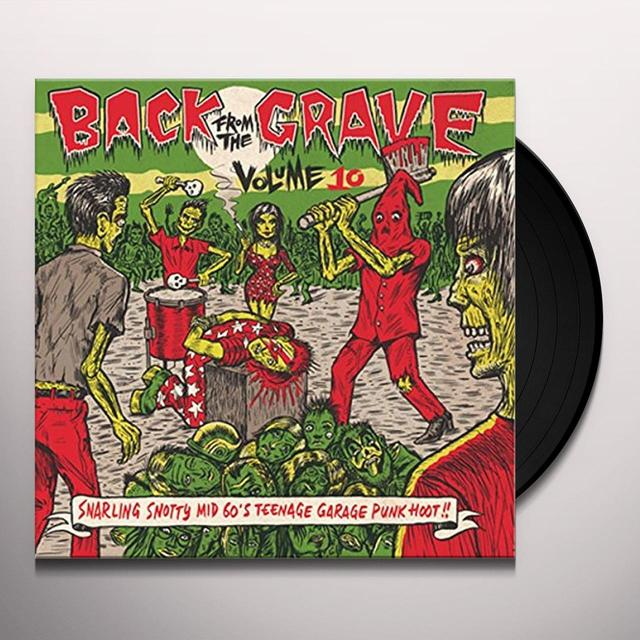 BACK FROM THE GRAVE 10 / VARIOUS BACK FROM THE GRAVE 10 Vinyl Record