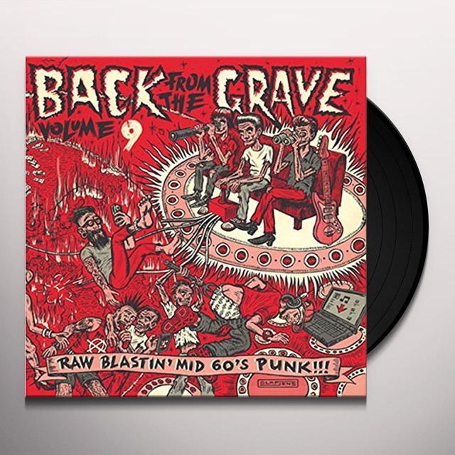 BACK FROM THE GRAVE 9 / VARIOUS Vinyl Record