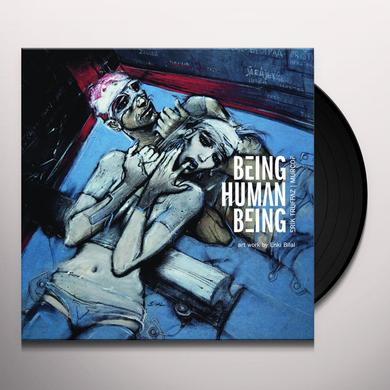 Erik Truffaz - Murcof BEING HUMAN BEING Vinyl Record - w/CD