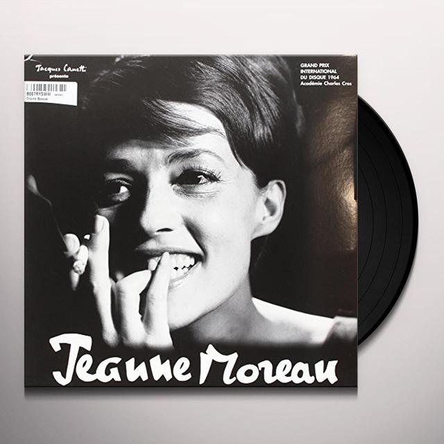 Jeanne Moreau CHANTE BASSIAK Vinyl Record