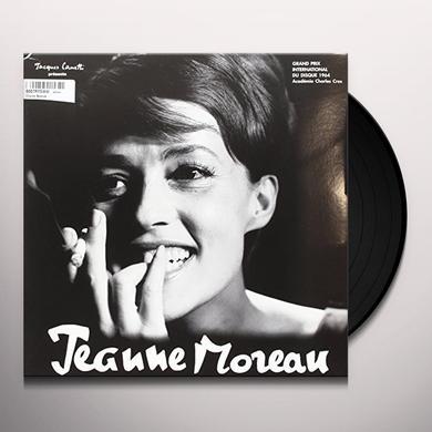 Jeanne Moreau CHANTE BASSIAK Vinyl Record