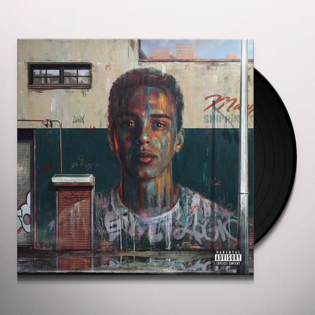 Logic UNDER PRESSURE Vinyl Record - Gatefold Sleeve